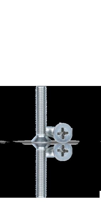 P33 - Viti metallo inox testa svasata piana